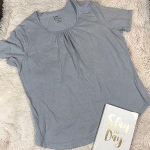 Just My Size Light Gray Hanes T shirt